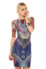 Ruffling Feathers Sublimation Dress