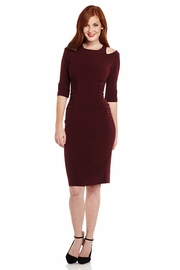 Sleeve Me Alone Midi Dress