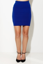 Stocks and Bandage Royal Knit Skirt