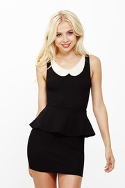 The Pearl Girl Peplum Dress