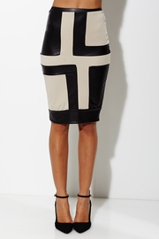 The Secret Crush Taupe Pencil Skirt