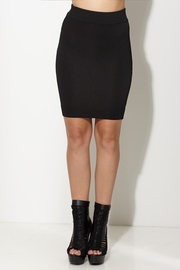 Totally Knee-t Black Pencil Skirt