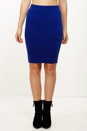 Totally Knee-t Royal Pencil Skirt
