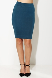 Totally Knee-t Teal Pencil Skirt