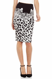 Triple Tiger Triumph Pencil Skirt