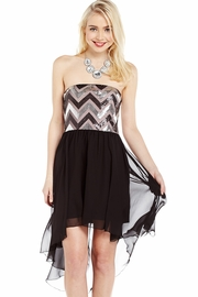 Ups and Downs High-Low Dress