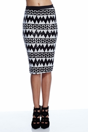 Zigzag Mishap Pencil Skirt