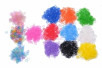 3600 Ct BULK Loom Bands   144 Free Clasps