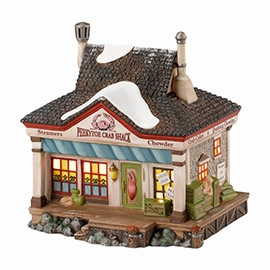 "Department 56 New England Village - ""Peekytoe Crab Shack"""