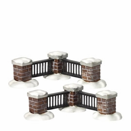 "Department 56 Snow Village  - ""Village Fence"" - 50% OFF"