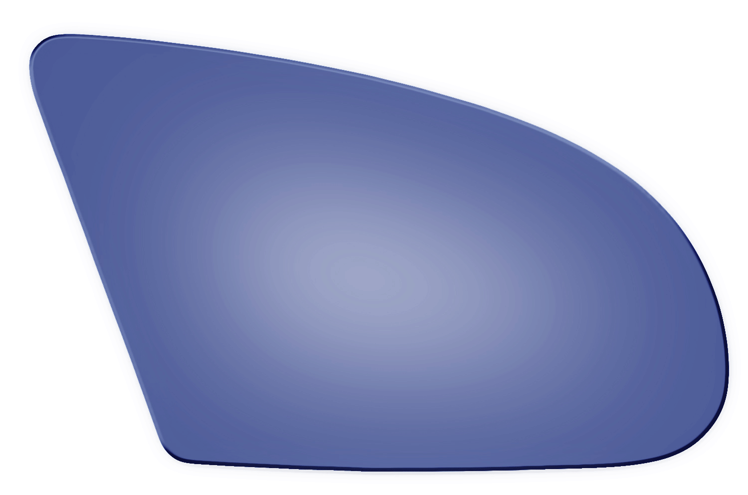 Ford taurus side view mirror glass
