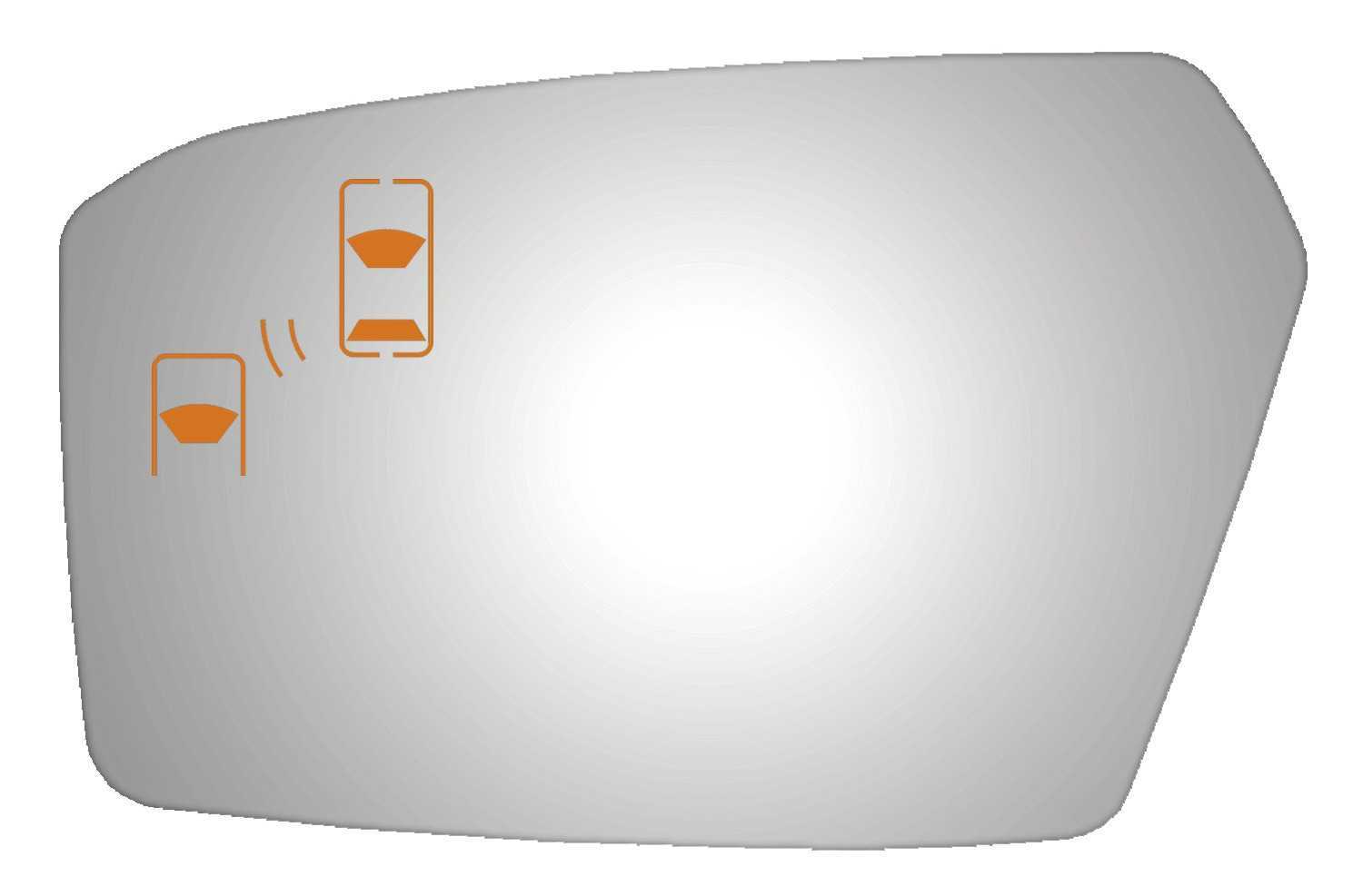 Lincoln Mkz 2010 Driver Side Mirror Glass Blind Spot