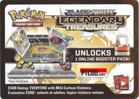 POKEMON BW11 LEGENDARY TREASURES ONLINE BOOSTER PACK CODE - Delivered Super Fast By Email - Redeem this code for ONE POKEMON BLACK & WHITE LEGENDARY TREASURES ONLINE POKEMON VIRTUAL PACK OF 10 POKEMON CARDS