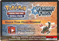 Pokemon HS Triumphant VERDANT FROST ONLINE DECK CODE WITH SUPER BONUS - YANMEGA PRIME ONLINE CARD & MORE - Delivered by Email - IN STOCK NOW