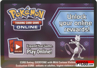 BW39 BATTLE CITY STADIUM PROMO CARD- Pokemon Mewtwo Character Box Online Code - Delivered by Email - IN STOCK NOW