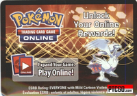 BW36 RESHIRAM EX POKEMON ONLINE PROMO CARD CODE - Reshiram EX Promo Card BW36 for your Pokemon Online Account - Delivered by Email - IN STOCK NOW