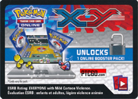 POKEMON XY01 X&Y BASE SET ONLINE BOOSTER PACK CODE - Delivered Super Fast By Email - Redeem this code for ONE POKEMON X & Y BASE SET ONLINE POKEMON VIRTUAL PACK OF 10 POKEMON CARDS