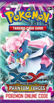 POKEMON XY04 X&Y PHANTOM FORCES SET ONLINE BOOSTER PACK CODE - Delivered Super Fast By Email - Redeem this code for ONE POKEMON X & Y PHANTOM FORCES EXPANSION SET ONLINE POKEMON VIRTUAL PACK OF 10 POKEMON CARDS