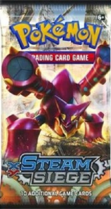 POKEMON XY11 X&Y STEAM SIEGE SET ONLINE BOOSTER PACK CODE - Delivered Super Fast By Email - Redeem this code for ONE POKEMON X & Y STEAM SIEGE EXPANSION SET ONLINE POKEMON VIRTUAL PACK OF 10 POKEMON CARDS