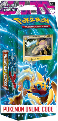 XY04 BOLT TWISTER POKEMON X & Y PHANTOM FORCES STARTER THEME DECK CODE - X&Y Starter Theme Deck Code for your Pokemon Online Account - Delivered by Email