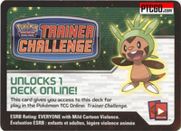 XY CHESPIN POKEMON KALOS STARTER THEME DECK CODE - XY Kalos Chespin Starter Theme Deck Code for your Pokemon Online Account - Delivered by Email
