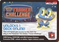 XY FROAKIE POKEMON KALOS STARTER THEME DECK CODE - XY Kalos Froakie Starter Theme Deck Code for your Pokemon Online Account - Delivered by Email - IN STOCK NOW