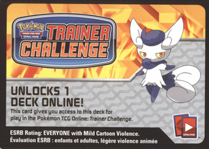 XY02 MYSTIC TYPHOON POKEMON X & Y FLASHFIRE STARTER THEME DECK CODE - X&Y MEOWSTIC Starter Theme Deck Code for your Pokemon Online Account - Delivered by Email - IN STOCK NOW