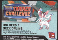 XY03 ENCHANTED ECHO POKEMON X & Y FURIOUS FIST STARTER THEME DECK CODE - X&Y SYLVEON Starter Theme Deck Code for your Pokemon Online Account - Delivered by Email - IN STOCK NOW