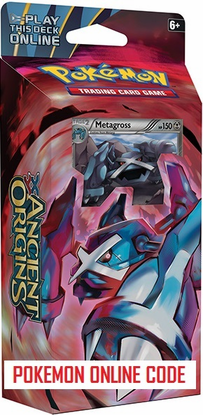 XY07 IRON TIDE POKEMON X & Y ANCIENT ORIGINS STARTER THEME DECK CODE - X&Y Starter Theme Deck Code for your Pokemon Online Account - Delivered by Email