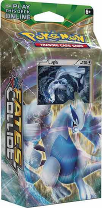 XY10 SKY GUARDIAN (LUGIA) POKEMON X & Y FATES COLLIDE STARTER THEME DECK CODE - X&Y Starter Theme Deck Code for your Pokemon Online Account - Delivered by Email