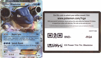 XY30 BLASTOISE EX POKEMON ONLINE PROMO CARD CODE - Blastoise EX Promo Card XY30 for your Pokemon Online Account - Delivered by Email - IN STOCK NOW