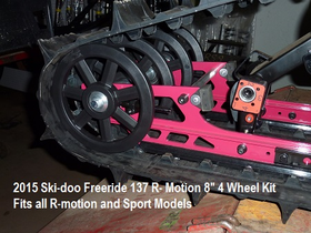 "8"" Big Wheel Kit for all Sport &  R-Motion"