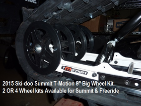 "9"" Big Wheel Kits  for Summit & Freeride"