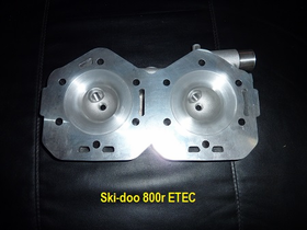 Ski-doo 800R ETEC Head Machining
