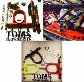 Tom's E-Motion Suspension Kit with Fox Float Shocks for 2013-2016 Ski-doo Summit