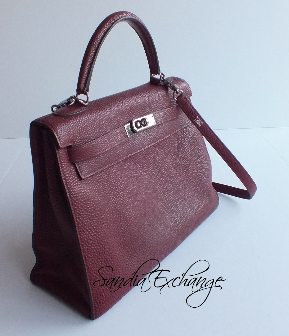hermes tri color box kelly sellier 32