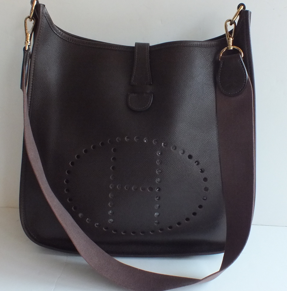 tasche hermes - authentic-hermes-evelyne-gm-dark-brown-courchevel-gold-hardware-crossbody-3.jpg