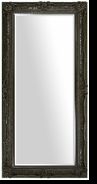 Baroque Ornate Full Length Mirror – Mirror Style #904 – 24x60 – High Gloss Espresso