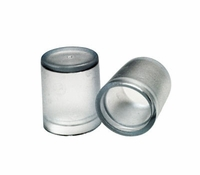"1/2"" Clear End Cap (10 pk)"