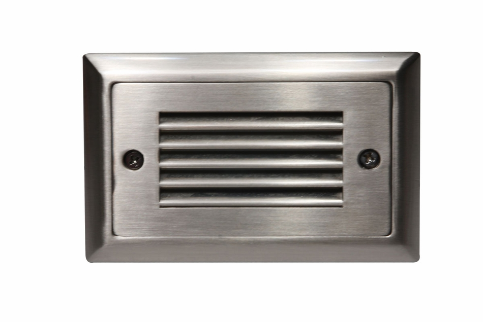 American Lighting Step Light Faceplate Horizontal Louver