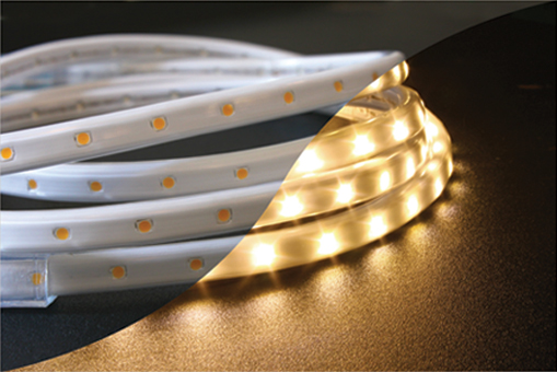 led 120v warm white tape rope hybrid light kit. Black Bedroom Furniture Sets. Home Design Ideas
