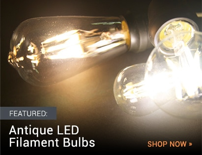 Antique LED Filament Bulbs
