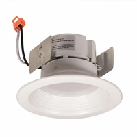 "Nora 4"" Onyx LED Retrofit Downlight - Baffle Trim"