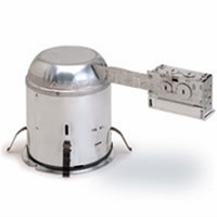 "Nora 6"" IC Air-Tight Line Voltage Remodel Housing"