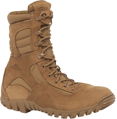 Belleville 533 St Men S Sabre Hot Weather Steel Toe Coyote