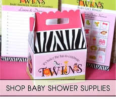 Baby Shower Accessories by Theme