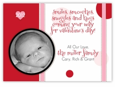 Dottie Dots Valentine�s Day Photo Card