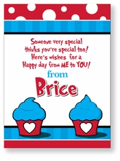 Dr. Seuss Look Personalized Valentine