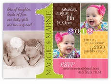 twin birthday invitations  ctsfashion, Birthday invitations