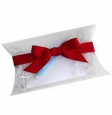 Frosted Pillow Box Note Pad Gift Set